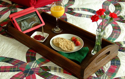 Neat Little Project: Make a Sturdy Wood Serving Tray