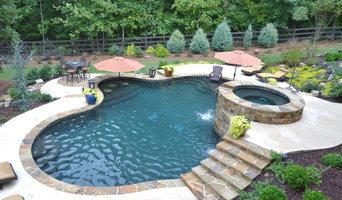 Custom Concrete Swimming Pool in Cumming, Georgia