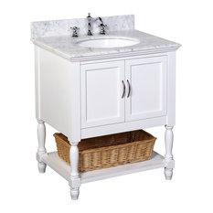 inch bathroom vanities  houzz, Bathroom decor