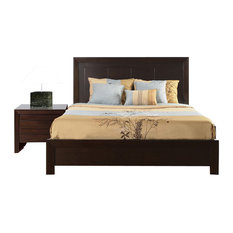 modus bedroom furniture modus urban. Modus Furniture International Inc - Element 2-Piece Platform Bedroom Set In Chocolate Brown Urban