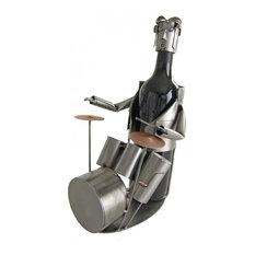 Drummer Wine Bottle Holder