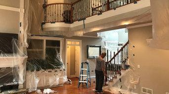 Remodel Kitchen & Refinished Wood Floors Milton, GA