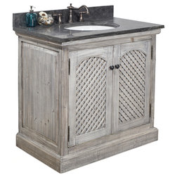 Farmhouse Bathroom Vanities And Sink Consoles by inFurniture Inc.,