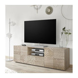 Miro (Oak) 2 door 1 drawer TV unit