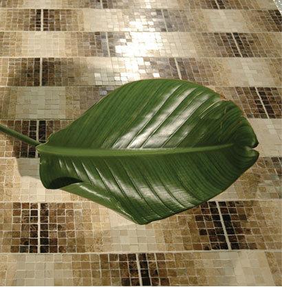 Gradient 'Tahiti' style Floor Mosaic - Mosaic Tile