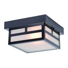 Acclaim Lighting 4708 Artisan 1-Light Outdoor Flush Mount Ceiling Fixture