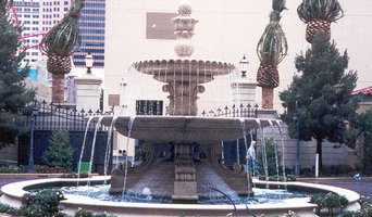 LAS VEGAS COURTYARD FOUNTAIN