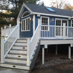 Wood Deck Roof System