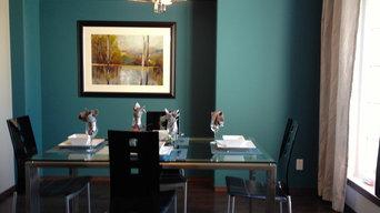 Colour Palette for contemporary interior