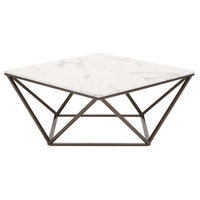 Tintern Coffee Table Stone and A. Brass