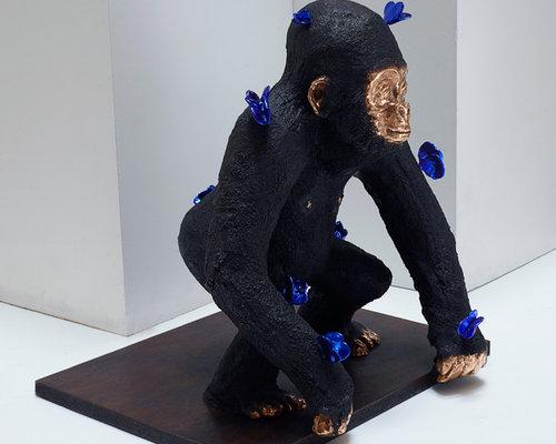 Le p'tit Kong - Sculpture