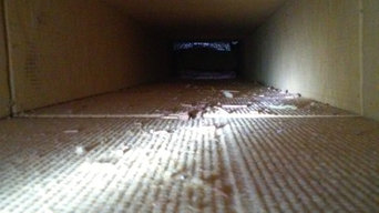 Air Duct Cleaning - Duct Board