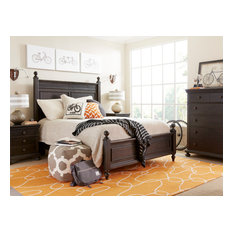 Smiling Hill Panel Bed Queen