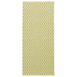Eye Woven Vinyl Floor Cloth, Gold, 70x200 cm