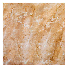 """11.8x11.8"""" Beige Marble Peel and Stick Wall Tile, Beige, Set of 12"""