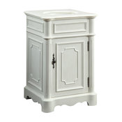 "21"" Powder Room Special Teega Bathroom Sink Vanity, Cf-3006W-Aw"