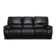 Stirling Dual Recliner Sofa With Hidden Storage, Manual