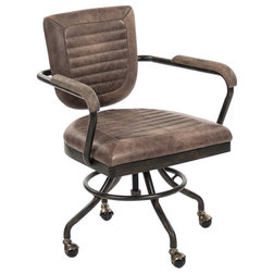 Industrial Office Chairs by Nook & Cottage