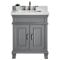 HighestRated Vanities By Color - Bathroom vanities gray color