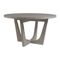 Brio Round Dining Table, Bianco Finish