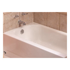 BOOTZ INDUSTRIES   Bootzcast Bathtub 5u0027 LH Outlet Porcelain On Steel    Bathtubs