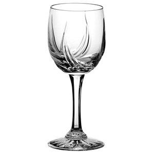 Monika Aurora Lead Crystal Wine Glasses, Large, Set of 6