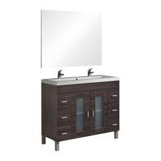 Muebles Jumar S L Samoa Ash Bathroom Vanity Unit 100 Cm