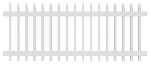 Gatehouse Arborley White Gothic Picket Vinyl Fence Panel More Info