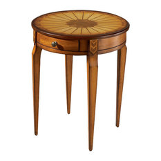 Archer Side Table, Medium Brown