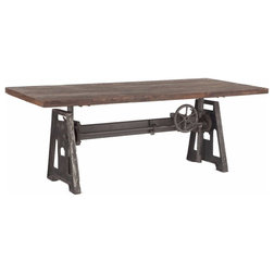 Industrial Dining Tables by Burleson Home Furnishings