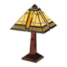 "16"" Sierra Prairie Mission Accent Lamp"