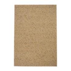 Monza Beige Hand-Knotted Floor Rug, 200x140 cm