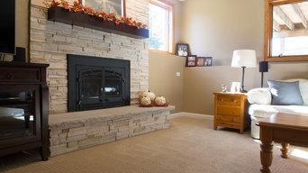 Family Room Carpet & Vinyl Plank