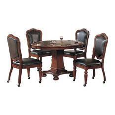 5-Piece Bellagio Dining and Game Table Set