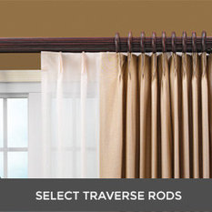 double traverse curtain rod with cord | curtain menzilperde