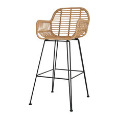 Hampstead All-Weather Bamboo Bar Stool