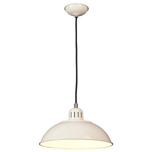Franklin Industrial-Style Pendant, Clear
