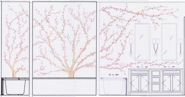 Interior Elevation by Caroline Beaupere Design