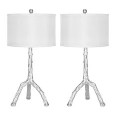 """Safavieh Silver 29"""" Branch Table Lamps, Set of 2"""