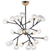 ET2 Pod LED 24-Light Pendant E21459-93BKGLD, Black/Gold