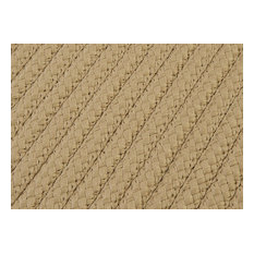 Colonial Mills, Inc - Simply Home Solid H330 Cuban Sand Indoor/Outdoor Area Rug, Square 8'x8' - Outdoor Rugs