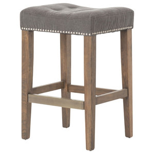 Ashford Sean Counter Stool Desert Canvas Transitional Bar Stools And Counter Stools By Plata Import Houzz