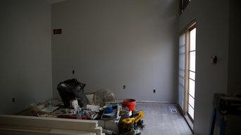 New masterbedroom, bathroom and closet