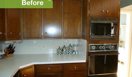 80's Laminate Cabinet Kitchen Update Advice