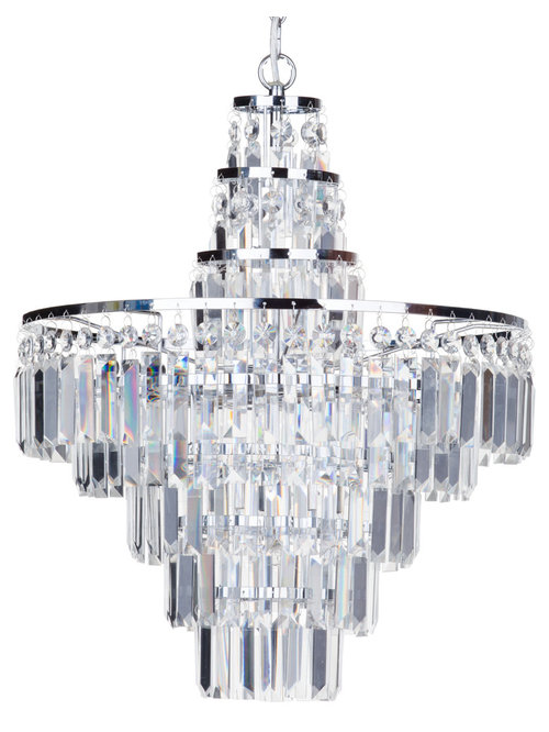 Bathroom Chandeliers Black vasca crystal bar bathroom lighting from litecraft