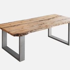 - FOSCARI Briccola Wood Table - HandMade by @dezottidesign - Tavoli da pranzo