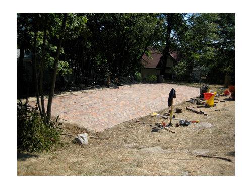 before  u0026 after modern backyard wall