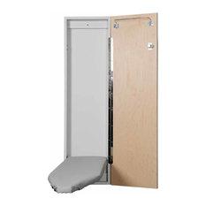 Economy Surface or Flush Mount Ironing Center, Flat White Door