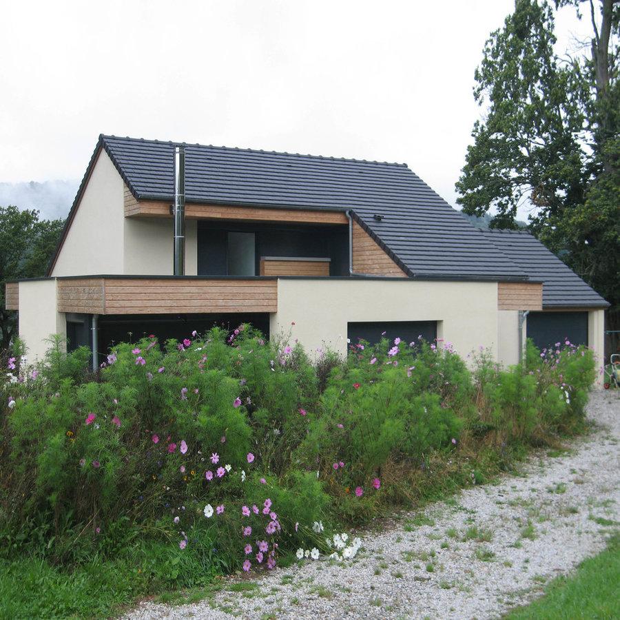 Gouny Tmb Ussel 19200 maison à bort-les-orgues - david chastain architecte