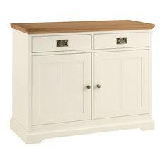 Provence Painted Oak Furniture Narrow Sideboard